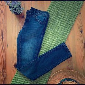 Jessica Simpson size25reg skinny blue jeans